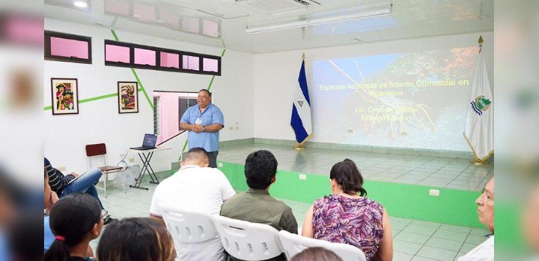 Conferencia sobre Fauna Marina de Nicaragua
