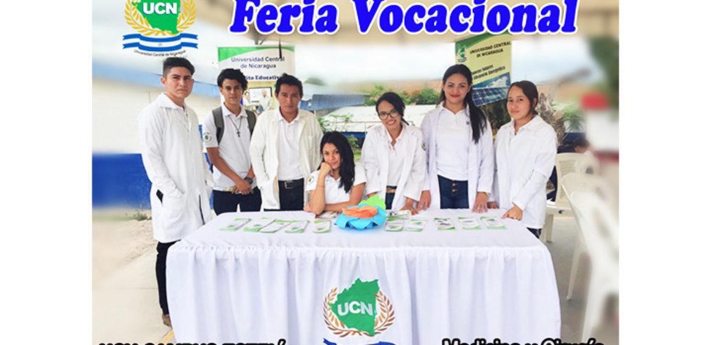 Universidad Central de Nicaragua Campus Esteli Presente en Feria Vocacional promovida por IMPRU-ESTELI