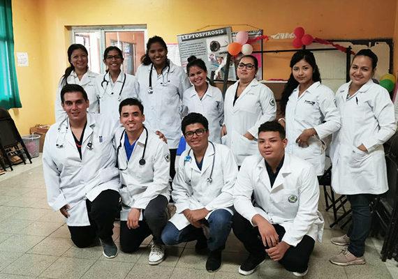 Clases de Salud y Comunidad I – Estudiantes de Medicina y Cirugía, Campus Central