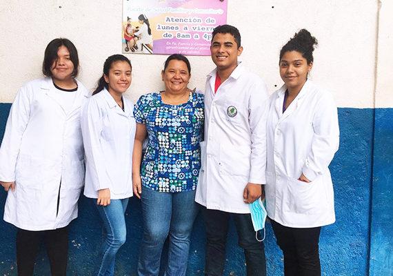Clases de Salud y Comunidad – Estudiantes de Medicina y Cirugía, Campus Central