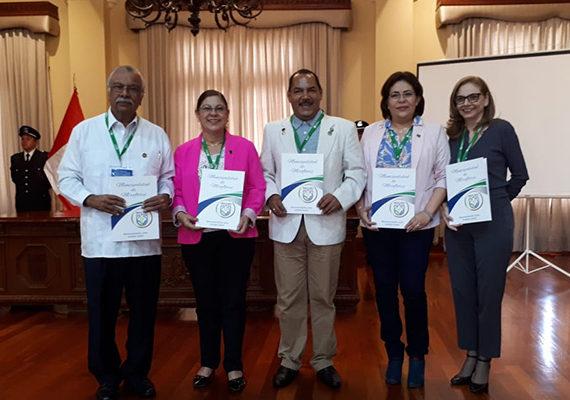 Rectores de Latinoamérica en UDUAL 70 Aniversario