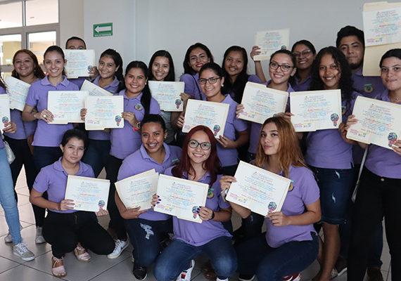 Entrega de certificados: Curso de Innovación y Emprendimiento