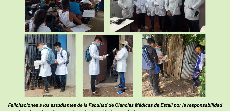 Estudiantes de Medicina de UCN Campus Estelí realizan prácticas