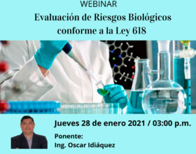 Seminario Web: Evaluación de Riesgos Biológicos.