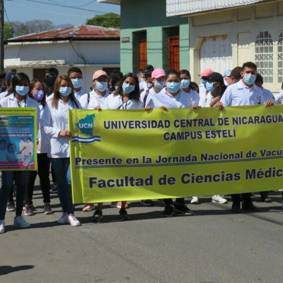 Campaña Nacional de Vacunación 2021 – Campus Estelí
