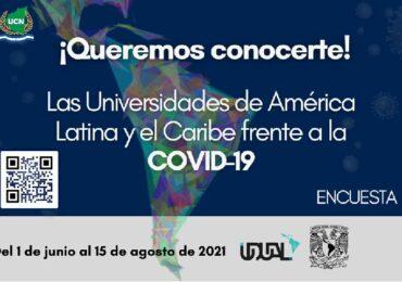"""""""Las Universidades de América Latina y el Caribe frente a la Covid-19""""."""