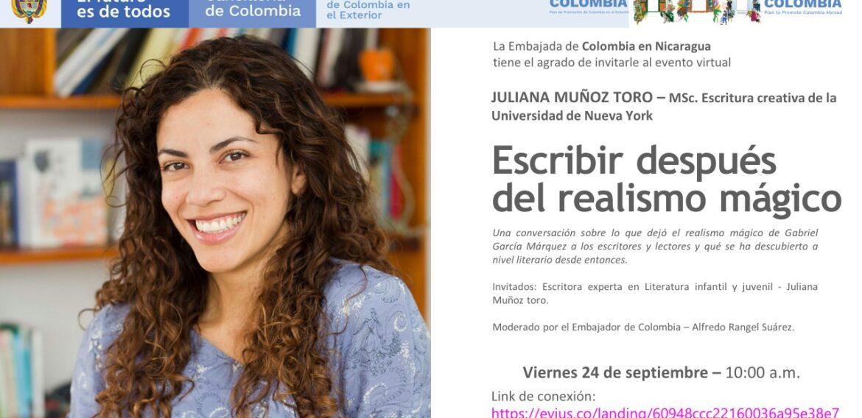 """Evento virtual """"Escribir después del realismo mágico"""""""